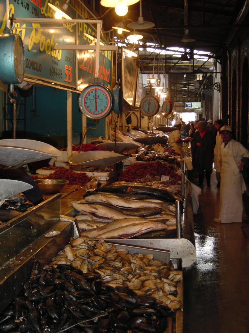 Chile for Central fish market